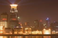 13晚上上海 免版税库存图片