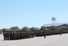 13毕业海军陆战队员 图库摄影