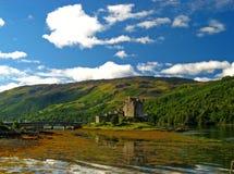 13 écossais des montagnes de château Image libre de droits
