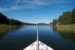13 łódź do doku Szwecji Obrazy Royalty Free