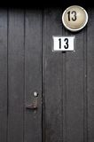 13 αριθμός Στοκ Εικόνα