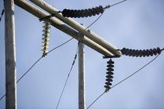 13 ηλεκτρικά Στοκ Εικόνα