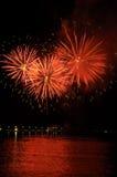 13 πυροτεχνήματα Στοκ εικόνα με δικαίωμα ελεύθερης χρήσης