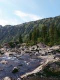 13 средних нижних камня mult озера Стоковое Изображение RF