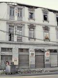 13 2010 землетрясений valparaiso -го Чили февраль Стоковая Фотография