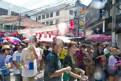 13 2012 april bangkok festivalsongkran Arkivbild