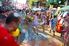 13 2012 april bangkok festivalsongkran Royaltyfri Bild