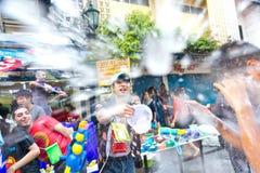 13 2012 april bangkok festivalsongkran Arkivfoto