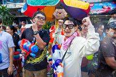 13 2012 april bangkok festivalsongkran Arkivfoton