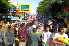 13 4月2012日曼谷节日songkran 图库摄影