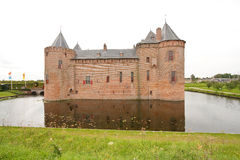 13世纪城堡 库存图片