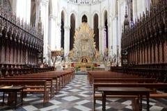 13 amiens大教堂法国 库存图片