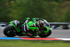 13 Anthony West - Kawasaki Racing Team Royalty Free Stock Photo