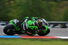 13 Anthony West - Kawasaki Racing Team Royalty Free Stock Photo