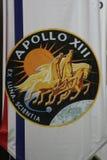 13 Apollo odznaki misja Obrazy Royalty Free