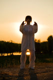 13 chuan κάνουν τη λευκή γυναίκ&alph Στοκ εικόνες με δικαίωμα ελεύθερης χρήσης