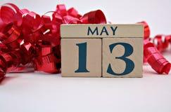 13 de mayo b Foto de archivo