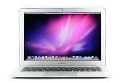 13 Inch MacBook Luft Stockbilder