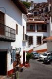 13 juni, 2009: Het hoofdplein van Taxco. Royalty-vrije Stock Foto's