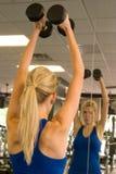 13 kobieta weightlifter Obrazy Stock