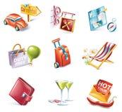 13 kreskówki ikony część setu stylowy target1790_0_ wektor Zdjęcia Royalty Free