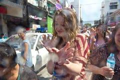 13 songkran празднества 2012 -го в апреле bangkok Стоковые Изображения