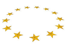 13 stars Stock Photography