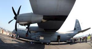 130航空c强制赫拉克勒斯我们 免版税图库摄影