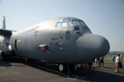 130航空c强制赫拉克勒斯我们 免版税库存图片