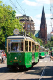 130. Jahrestag des öffentlichen Transports Lizenzfreies Stockfoto