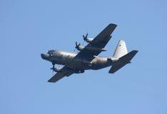 130h空军团结的赫拉克勒斯lockheed mc状态 库存图片