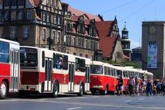 130th общественный местный транспорт годовщины Стоковая Фотография RF
