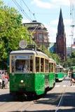 130th общественный местный транспорт годовщины Стоковое фото RF