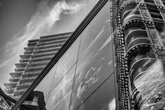 131 woodwards full contrast and structure-vancouver-gastown-xe2-zeiss35-2-20150703-DSCF6606-Edit.jpg Stock Photography