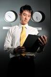 139企业时钟办公室 库存图片