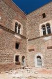 замок цитадели 13th столетия в Франции Стоковая Фотография