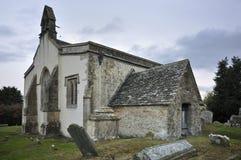 13th centuary kyrkliga inglesham Royaltyfri Foto