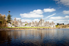 The 13th Century Ashford Castle in Cong - Ireland. Royalty Free Stock Photography