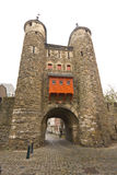 13th century gate and walls Royalty Free Stock Images