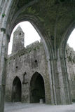 13th century Gothic cathedral. At Rock of Cashel (Tipperary/Ireland Stock Photography