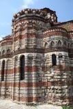 13th century Greek church. The Church of Christ Pantocrator in Nessebar, Bulgaria Stock Photography
