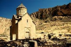 13th kloster för areniarmenia århundrade Royaltyfri Bild