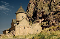 13th noravank för armenia århundradekloster Fotografering för Bildbyråer