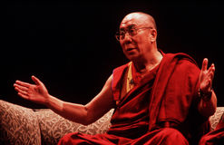 14ème Dalai Lama du Thibet Photo stock
