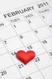 14ème du février 2011 Photo stock
