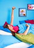 14上床时间 免版税图库摄影