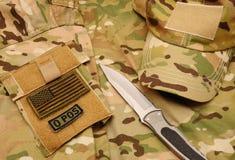 14个军人充塞 免版税库存照片