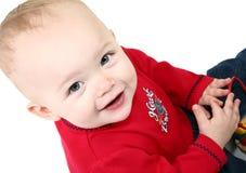 14个可爱的女婴月 库存图片