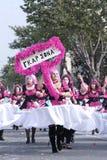 14个狂欢节塞浦路斯2月利马索尔游行 免版税库存图片