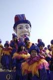 14个狂欢节塞浦路斯2月利马索尔游行 库存照片